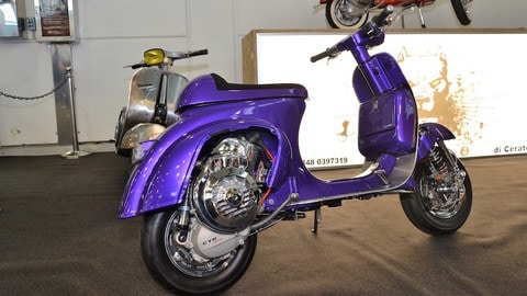 Sexy Vespa: le super pimpate by CTR Garage