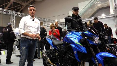 Motodays 2019: stand Suzuki tra GSX-S Yugen Carbon e Katana - VIDEO