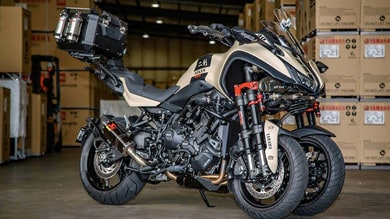 La Yamaha Niken mette il turbo