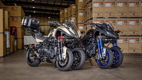La Yamaha Niken mette il turbo - LE FOTO
