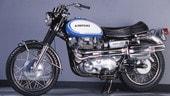 Kawasaki W2 650 Commander TT, l'inglese nipponica