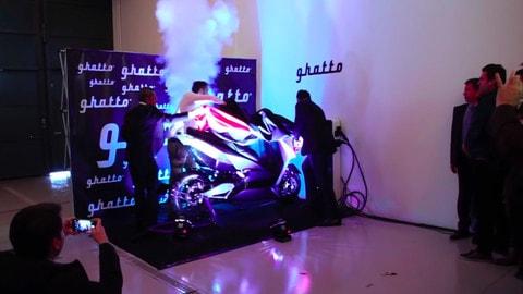 Ghatto G1, il maxiscooter elettrico - VIDEO