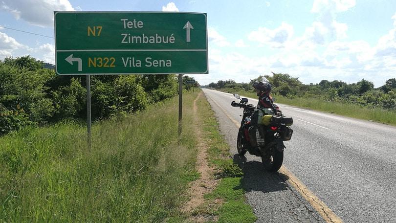 Alicia: con lo Scrambler su e giù per l'Africa
