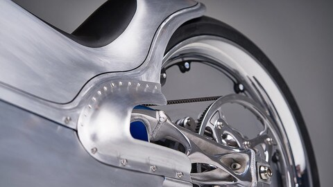 2029 Fuller Moto: design e stampante 3D - LE FOTO