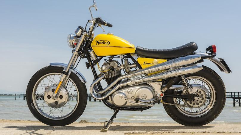 Una Norton Commando 750 davvero 'special'