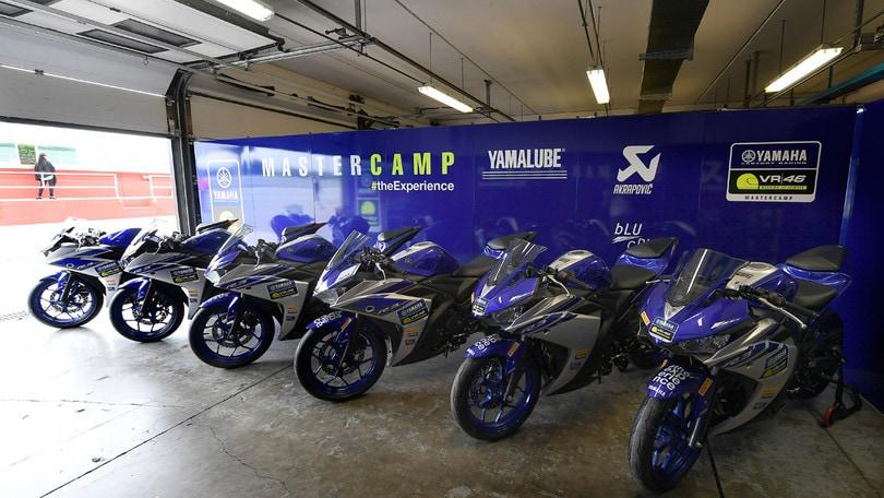 Pirelli e Yamaha al VR46 Master Camp
