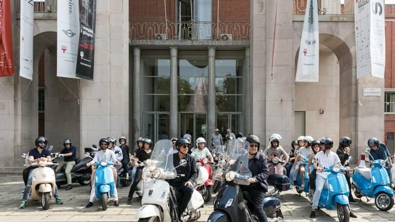 Milano Arch Week al via sugli scooter elettrici