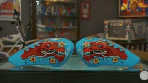 Indian, i nuovi copri serbatoio handmade - VIDEO