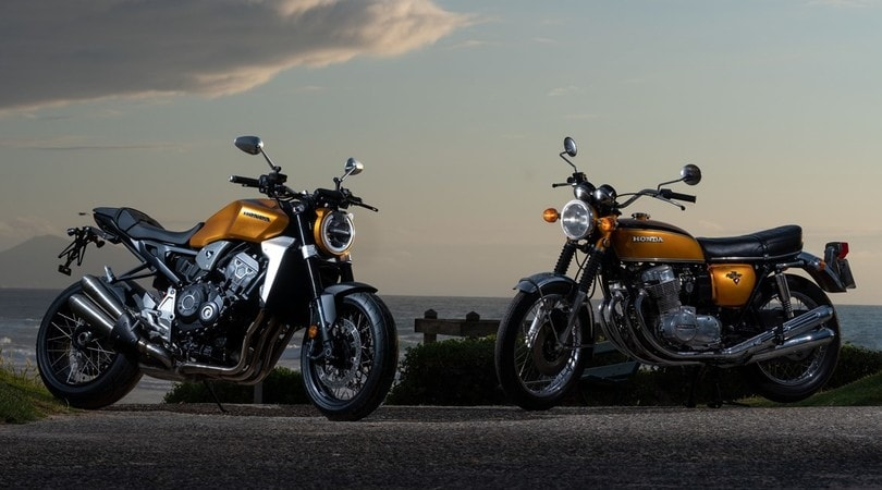 12 special per festeggiare la Honda CB750 Foural Wheels & Waves