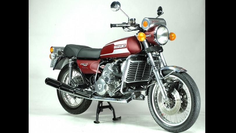 Suzuki RE 5 Wankel, prestigio e illusione