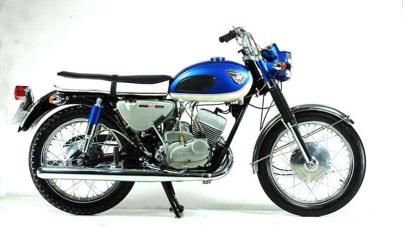 Kawasaki Samurai A1 250, la sconosciuta
