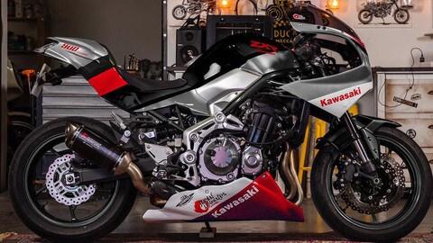 Così la Kawasaki Z900RS diventa una ZXR - LE FOTO