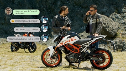Motosprint The Test di Riccardo Piergentili: KTM Duke 125 e Duke 390