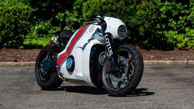 Lotus C-01, all'asta un raro gioiello su due ruote