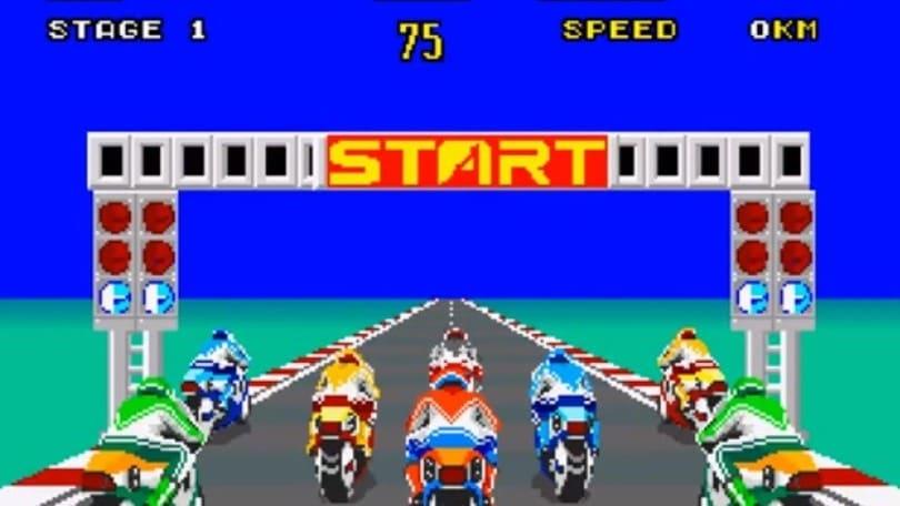 Anniversari: Hang-On, la rivoluzione dei videogiochi di moto