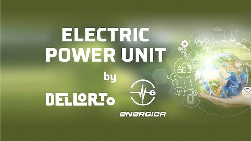 Energica: le power unit saranno Dell'Orto