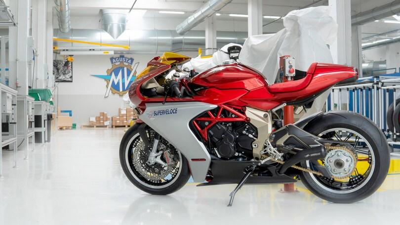 MV Agusta: sold-out le Serie Oro Superveloce 800 e Brutale 1000