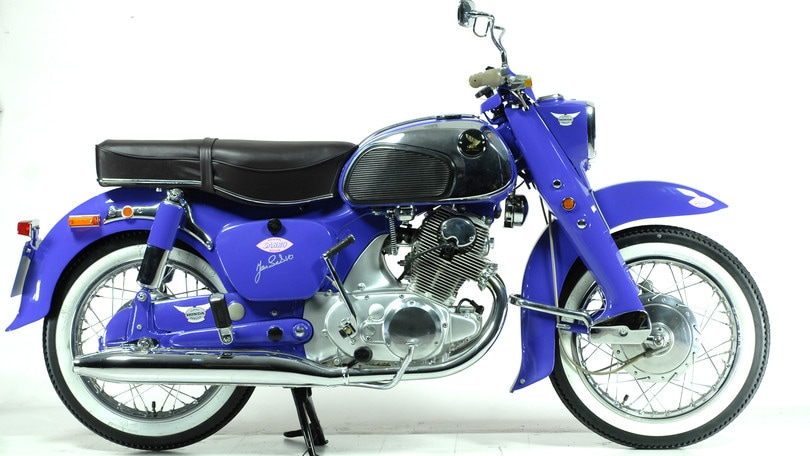 Honda C 72 Dream, un'orientale sconosciuta