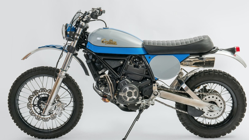 Special Ducati Scrambler by Lussiati
