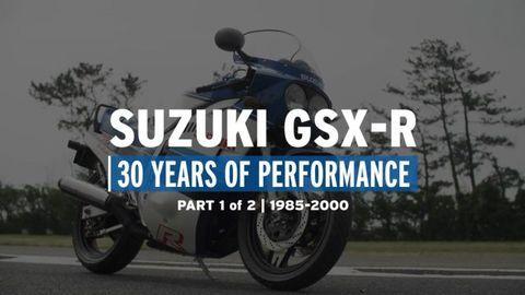 Suzuki GSX-R: 30 anni di storia - Parte 1: dal 1985 al 2000