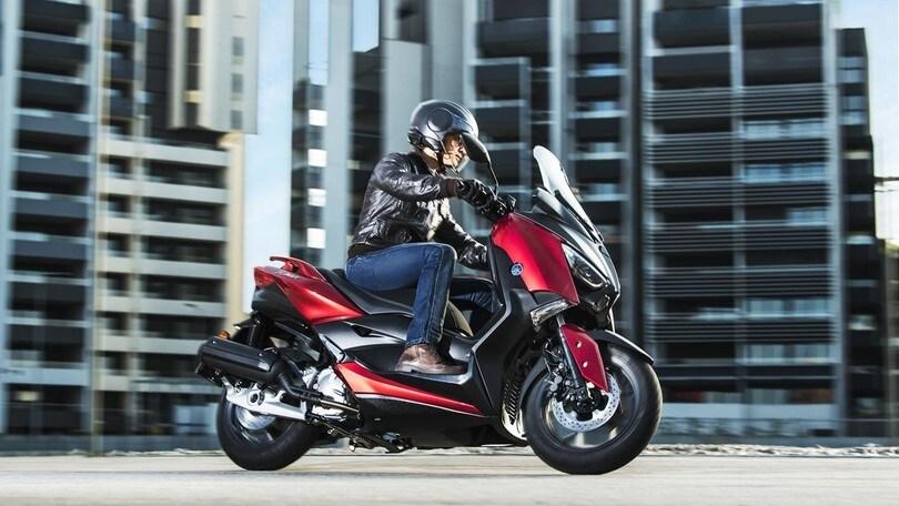 Nuovo Yamaha X-MAX 125 2018: dotazione al top!
