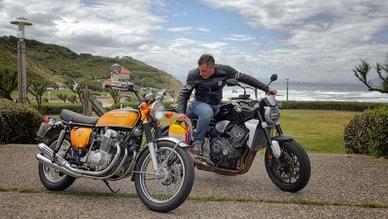 Con le Honda CB al Wheels & Waves per un compleanno speciale