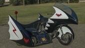 Batman, la replica perfetta della Bat-moto originale