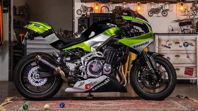 La Kawasaki Z900RS si trasforma in ZXR
