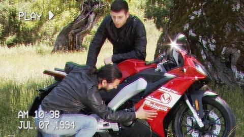 Motosprint The Test di Riccardo Piergentili: Malaguti RST 125