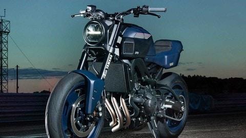 Yamaha Yard Built JvB-moto XSR900 CP3 - LE FOTO