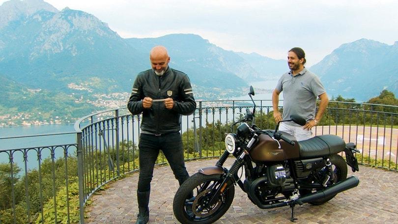 Motosprint The Test di Riccardo Piergentili: Moto Guzzi V7 III Stone Night Pack
