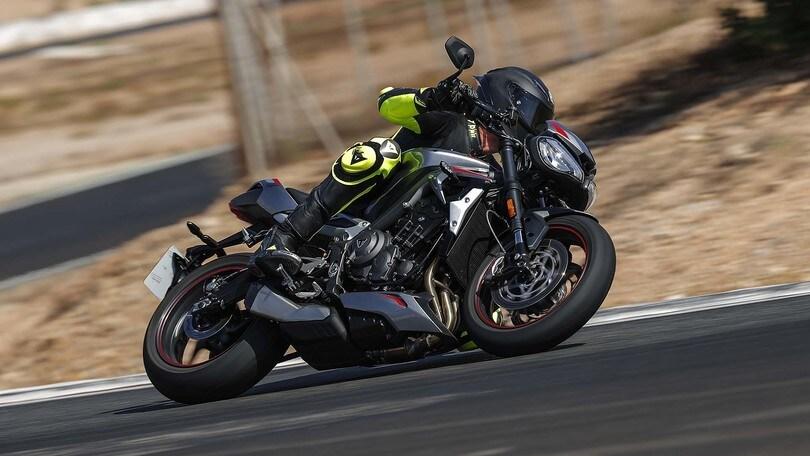 Triumph Street Triple RS: #SottoEsame