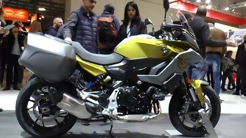EICMA LIVE 2019: BMW F 900 XR VIDEO