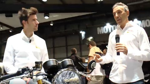 EICMA LIVE 2019: Triumph Thruxton RS VIDEO