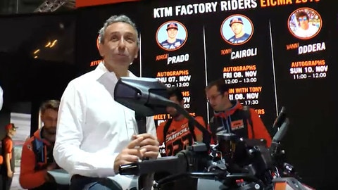 EICMA LIVE 2019: KTM Duke 890 R e 1290 Super Duke R VIDEO
