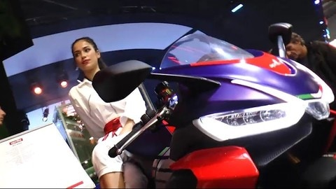 EICMA LIVE 2019 Aprilia RS 660 e Tuono 660 VIDEO