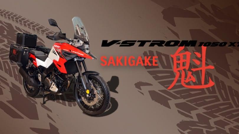 Suzuki V-STROM 1050 XT in l'edizione limitata Sakigake