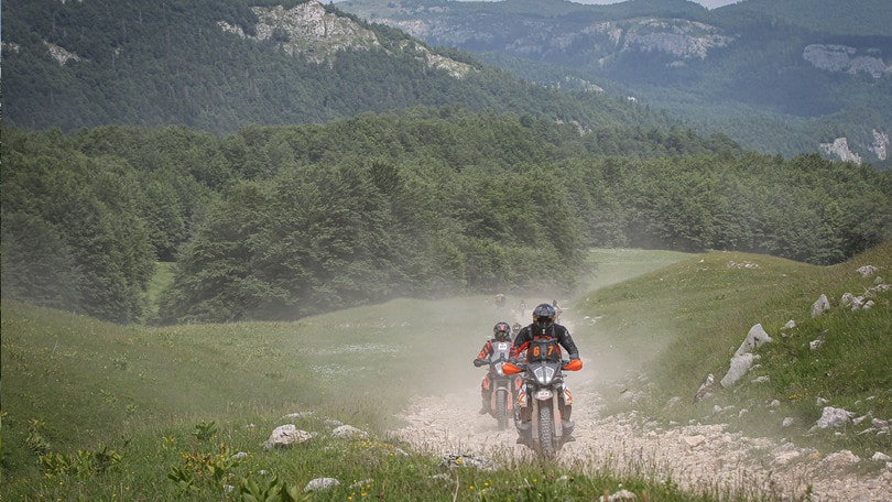 In Grecia con KTM Adventure Rally