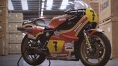 Suzuki, restaurata la moto dell'ultima corsa di Barry Sheene