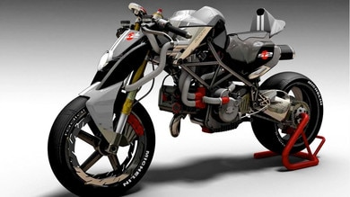 La Ducati Monster futurista di Tex Motorbike