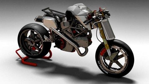 La Ducati Monster futurista di Tex Motorbike LE FOTO