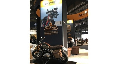 Continental a Motor Bike Expo FOTO