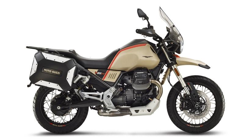 MBE 2020, Moto Guzzi e Aprilia con V85 TT e RS 660