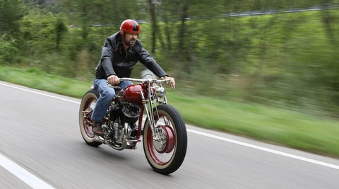H-D WLA 750 by V Motorcycles: special made in Friuli FOTO