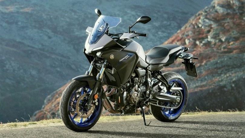 Yamaha, gli accessori per la nuova Tracer 700