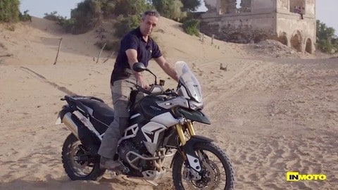 Video-prova Triumph Tiger 900 Rally
