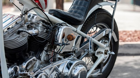 Harley-Davidson Captain America di Easy Rider FOTO