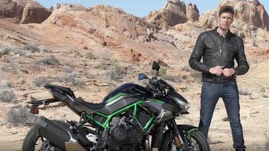 Video-prova, Kawasaki Z H2