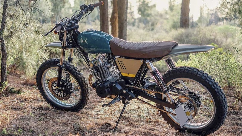 Honda CB 250 Nighthawk 'Velos': special by Urban Mechanics