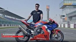 La Honda CBR 1000 RR-R Fireblade secondo Alex Polita - VIDEO